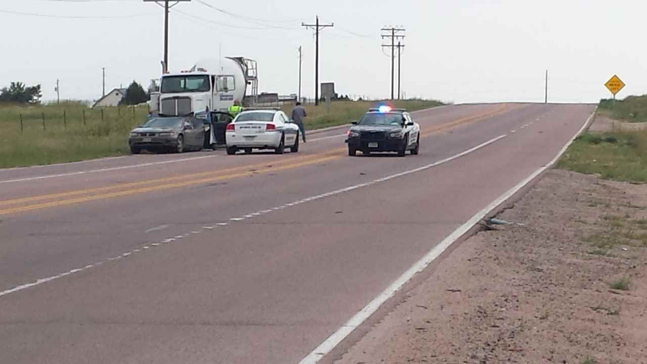 11-year-old girl injured in crash involving cement truck in El Paso County Tuesday afternoon.
