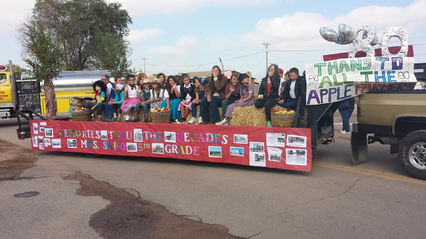 Apple Day parade