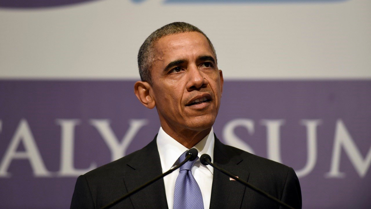 FILE: President Barack Obama speaks during a news conference following the G-20 Summit in Antalya, Turkey, Monday, Nov. 16, 2015. (AP Photo/Susan Walsh)