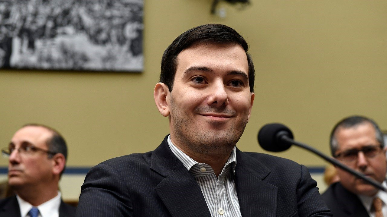 Pharmaceutical chief Martin Shkreli listens on Capitol Hill in Washington, Thursday, Feb. 4, 2016, during the House Committee on Oversight and Reform Committee hearing on his former company's decision to raise the price of a lifesaving medicine.