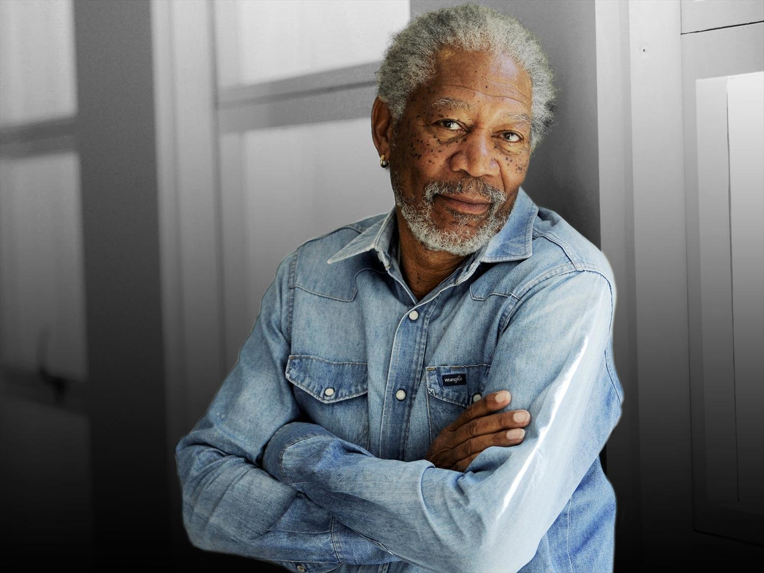 Oscar winning actor Morgan Freeman