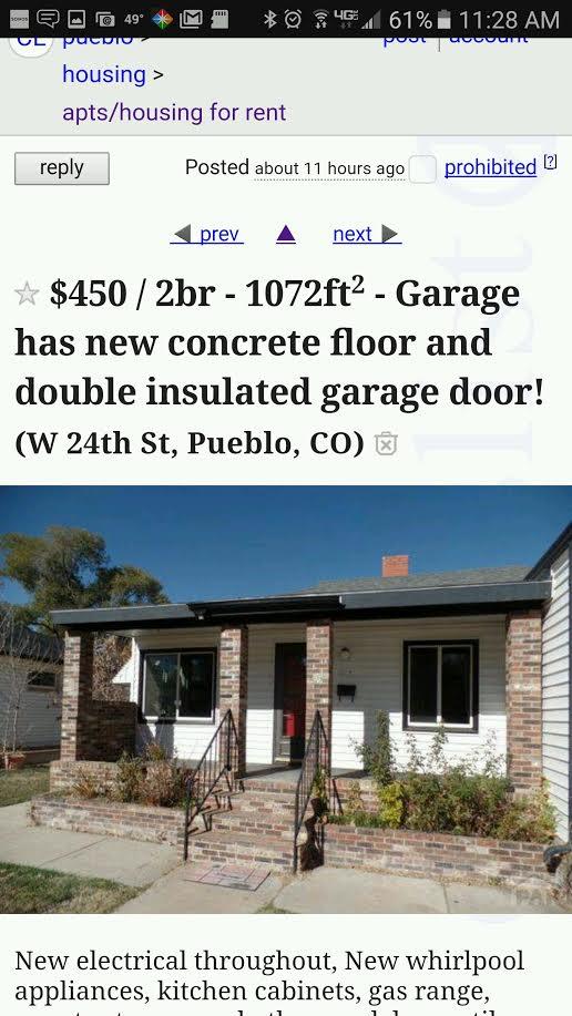 Pueblo Homeowner Targeted In Craigslist Scam   KOAA.com | Continuous News |  Colorado Springs And Pueblo