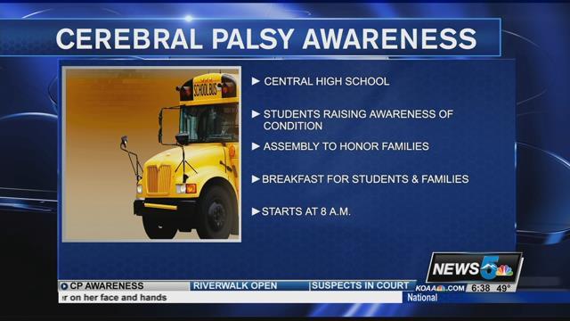 Pueblo students raise awareness for Cerebral Palsy - KOAA ...