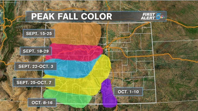 Colorado Peak Fall Colors Koaa Com Continuous News Colorado Springs And Pueblo
