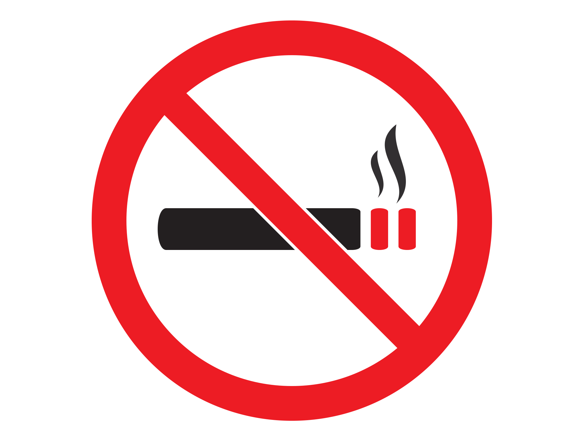 ban on public smoking at the