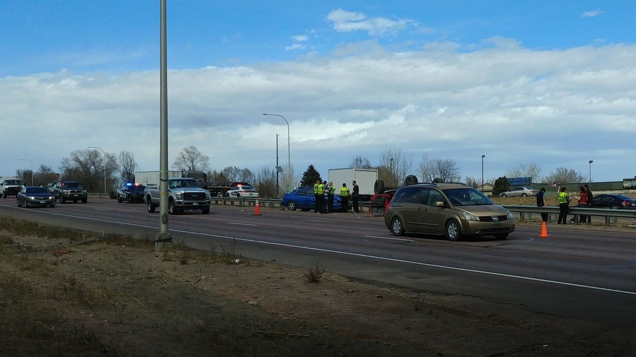 All lanes of nb and sb i 25 open in colorado springs for Local motors pueblo co