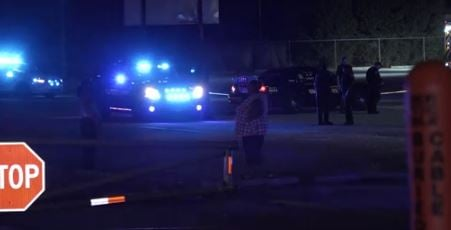 One killed, one wounded in shooting outside high school