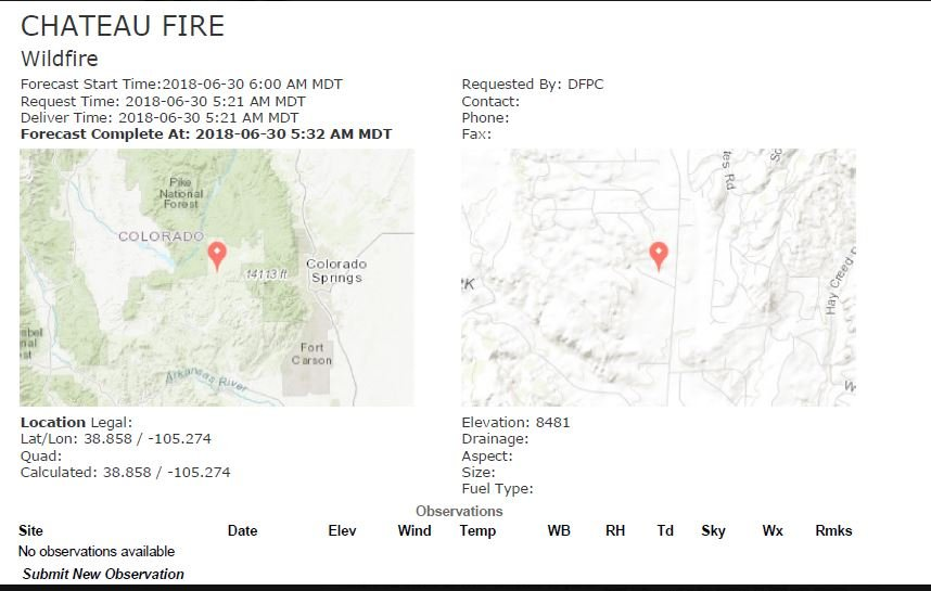 Additional Evacuation Orders Issued For High Chateau Fire Koaa Com