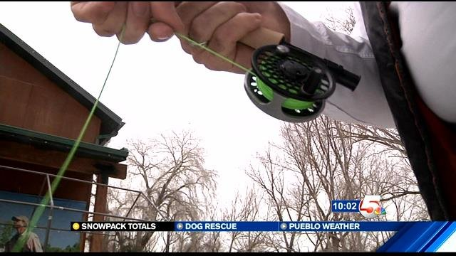 Keep what you catch at popular colorado fishing spot for Fishing spots in colorado springs