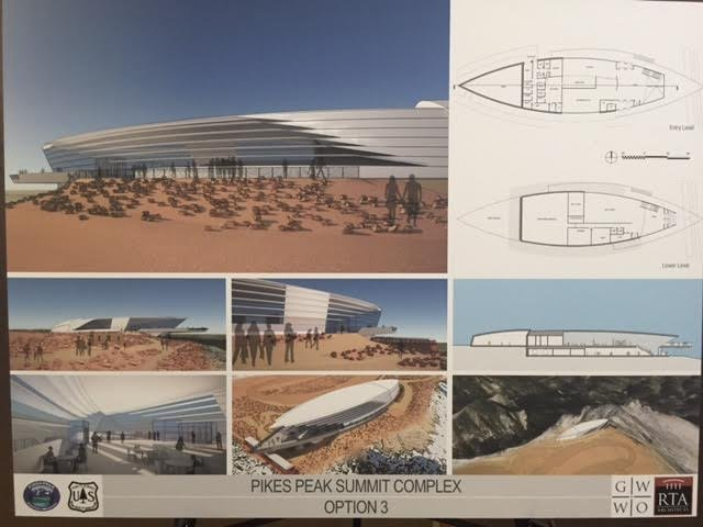 Public input wanted on new Summit House design atop Pikes Peak ...