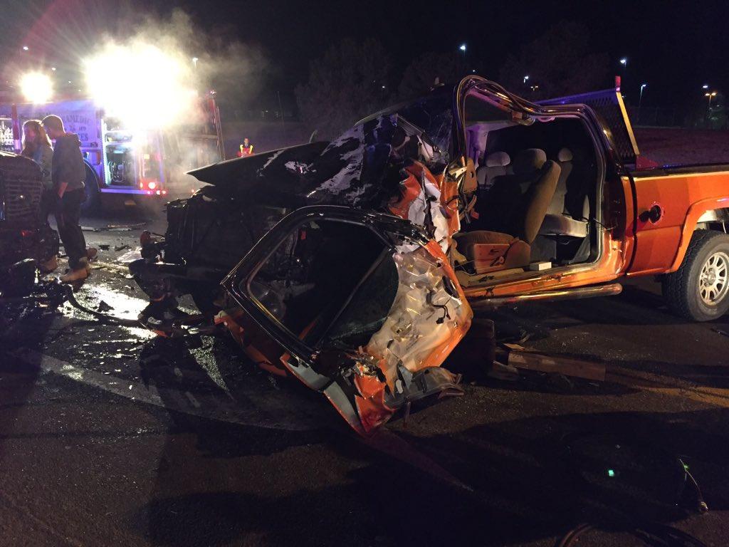 Com Continuous News Colorado >> Crash Closes Colorado Springs Intersection Koaa Com Continuous