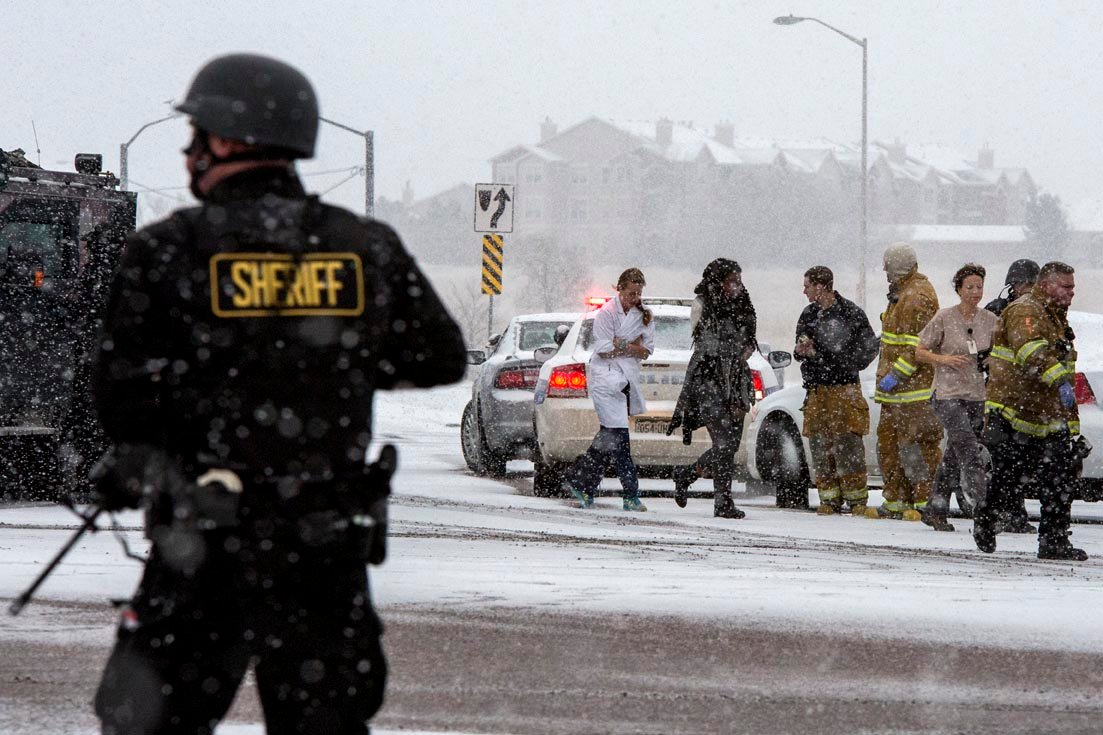 1 officer 2 civilians killed in planned parenthood shooting